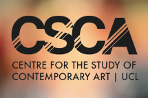 Supported by UCL Centre for the Study of Contemporary Art
